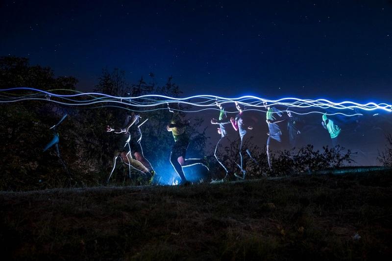 Běhej lesy Boletice - Noční závod