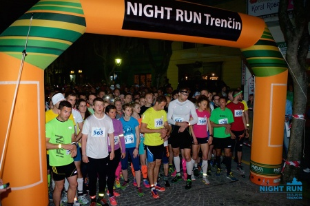 Night Run Trenčín