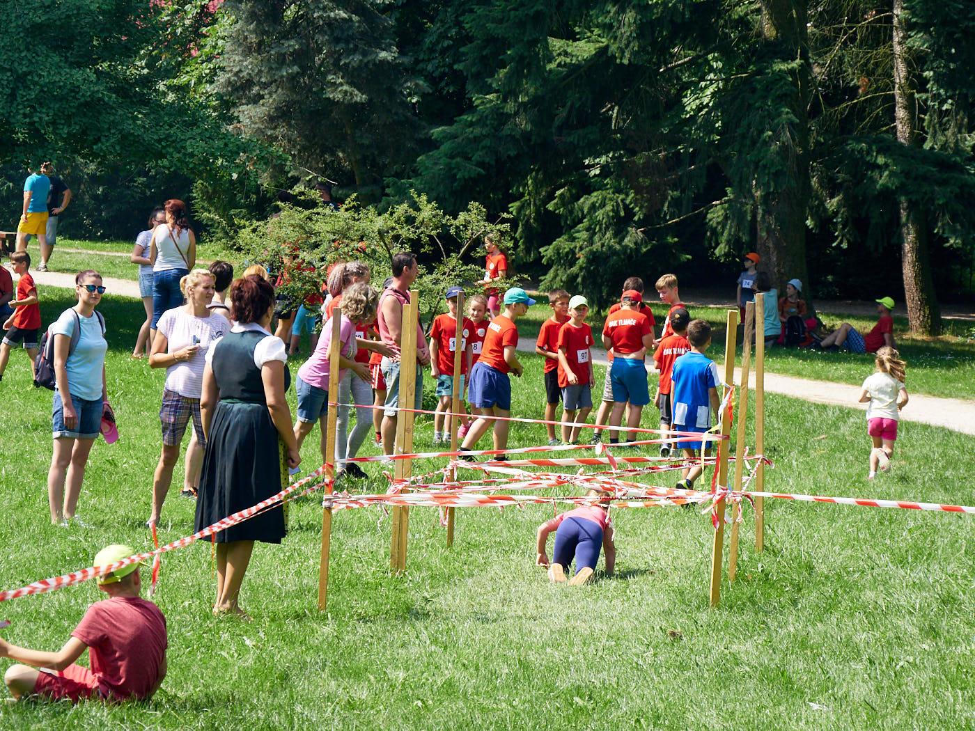 Sparťanské deti v Topoľčiankach