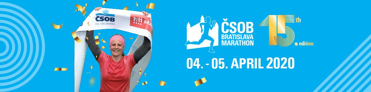 Bratislava štafetový maratón 2020